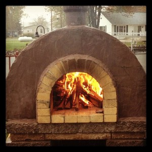Pizza Night @ the Knisely Pizza Oven